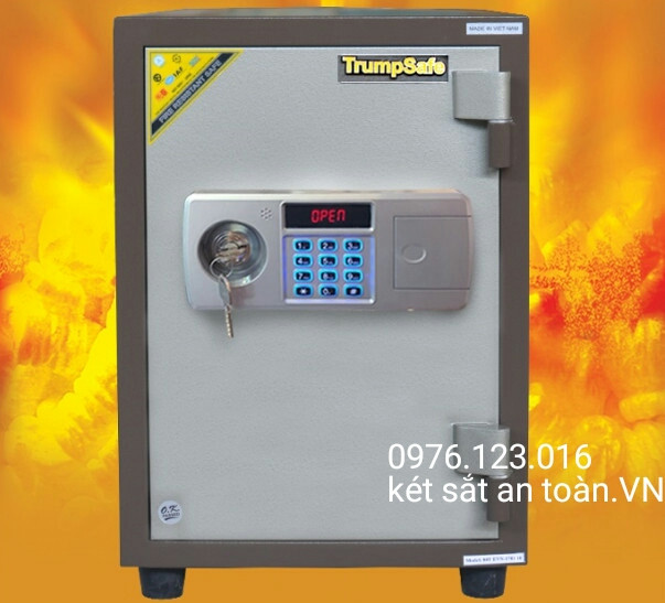 két sắt chính hãng trumpsafe ts60 điện tử