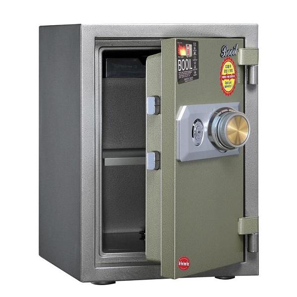 Chất liệu được sử dụng làm két sắt chất lượng