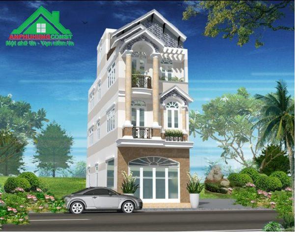 Mẫu thiết kế nhà phố tại TPHCM - 01