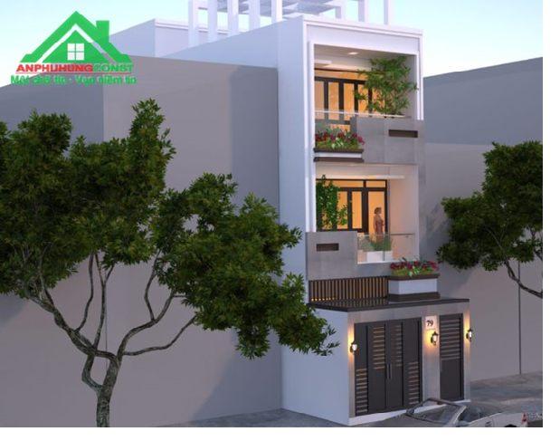 Mẫu thiết kế nhà phố giá rẻ - 03
