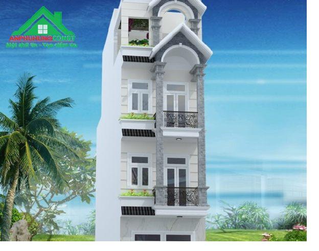Mẫu thiết kế nhà phố tại TPHCM - 02