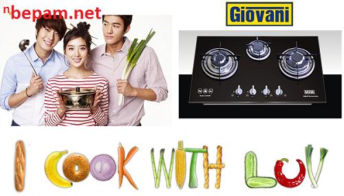 Bếp ga Giovani tự hào là sản phẩm giành cho người Việt