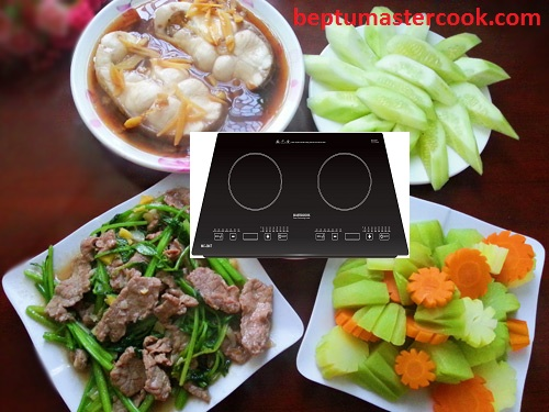Bếp từ Mastercook MC 266T chiến binh mạnh mẽ đến từ Hàn Quốc
