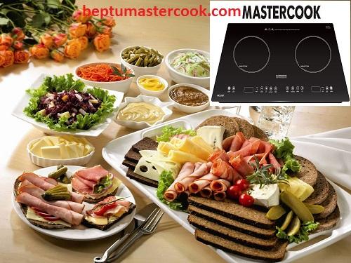Một số tính năng tuyệt vời trên bếp từ Mastercook MC 288T