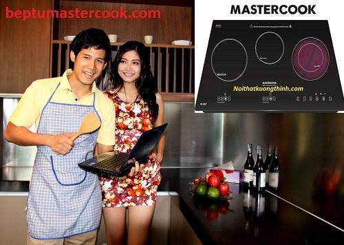 Bếp điện từ Mastercook sản phẩm được lòng nhiều bà nội trợ