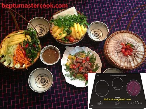 Tìm hiểu những thông tin về bếp điện từ Mastercook