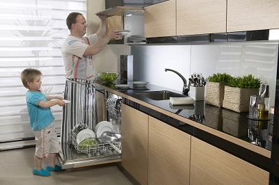 Máy rửa bát Giovani GDW361D sản phẩm tiện ích cho các bà nội trợ.