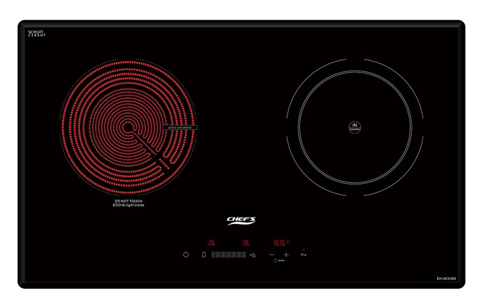 Bếp điện từ Chefs EH MIX 366 lựa chọn hoàn hảo dành cho nhà  bếp.