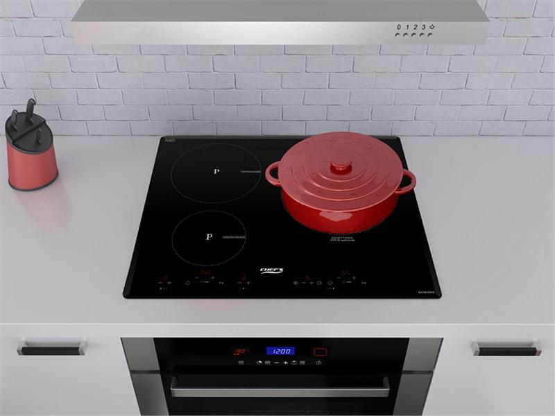 Bếp điện từ Chefs EH MIX 545 sự kết hợp hoàn hảo.