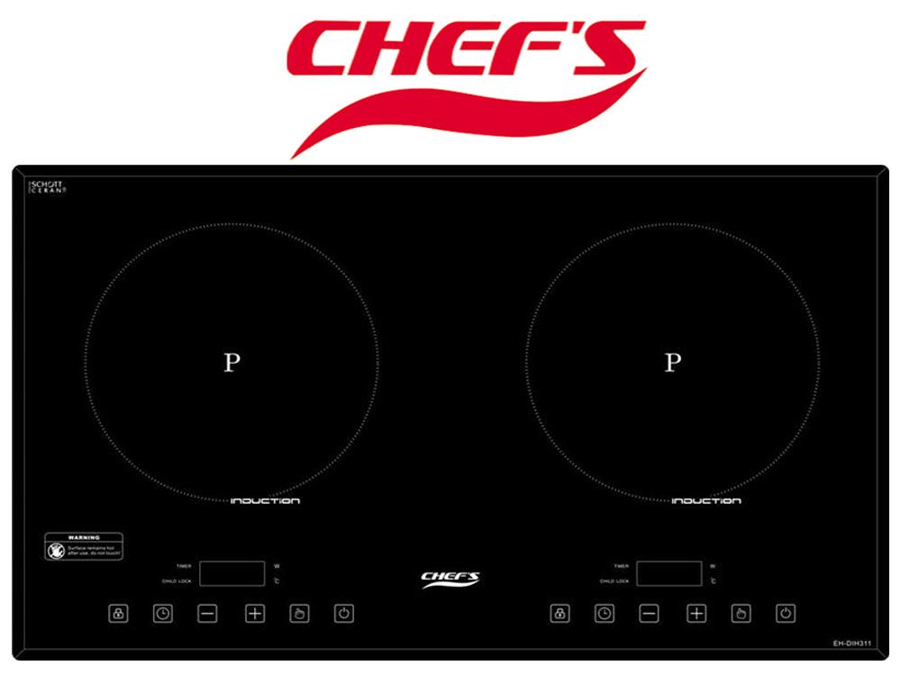 Bếp từ  Chefs EH DIH 311 làm hài lòng cả những bà nội trợ khó tính nhất.