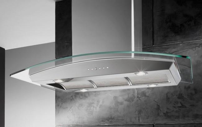 Máy hút mùi Giovani G2370RS cho một không gian nhà bếp trong lành.