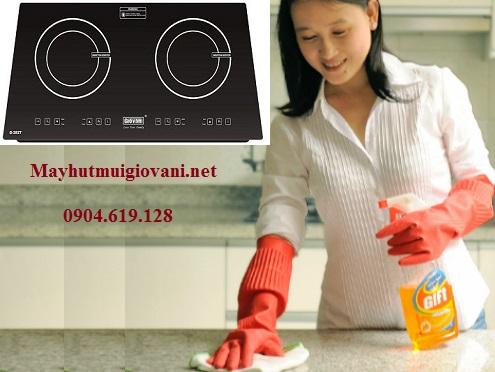 Hướng dẫn vệ sinh bếp từ Giovani G 282T