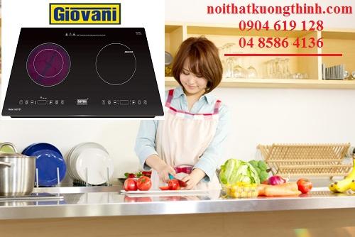 Bếp điện từ Giovani có an toàn không?