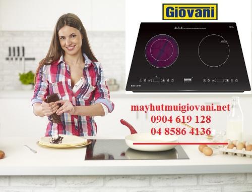 Bếp điện từ Giovani sản phẩm giành cho người dân Việt