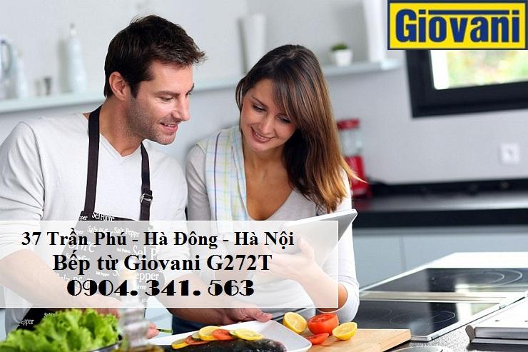 Bếp từ Giovani G272T an toàn