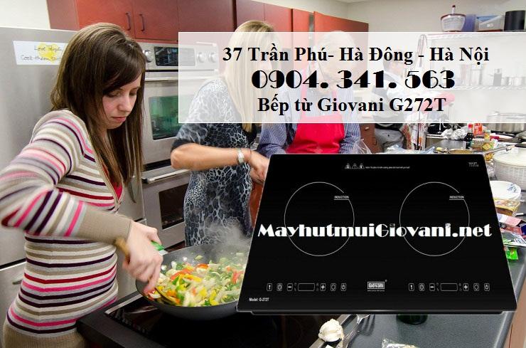 Bếp từ Giovani G272T không ảnh hưởng đến sức khỏe