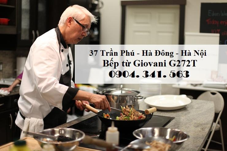 Mua ngay bếp từ Giovani G272T cho gia đình
