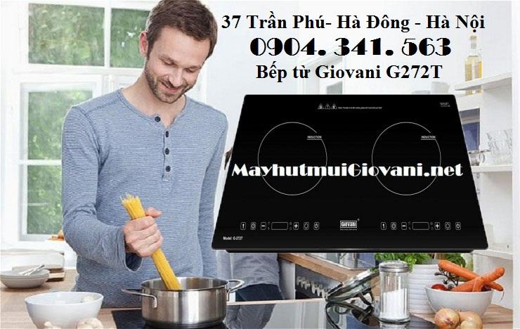 Bếp từ Giovani G272T lắp ráp tại Malaysia