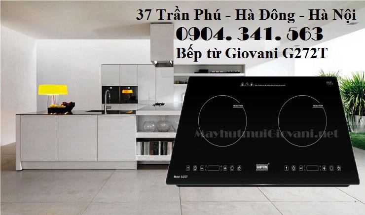 Mua bếp từ Giovani G272T khuyến mãi bộ nồi cao cấp