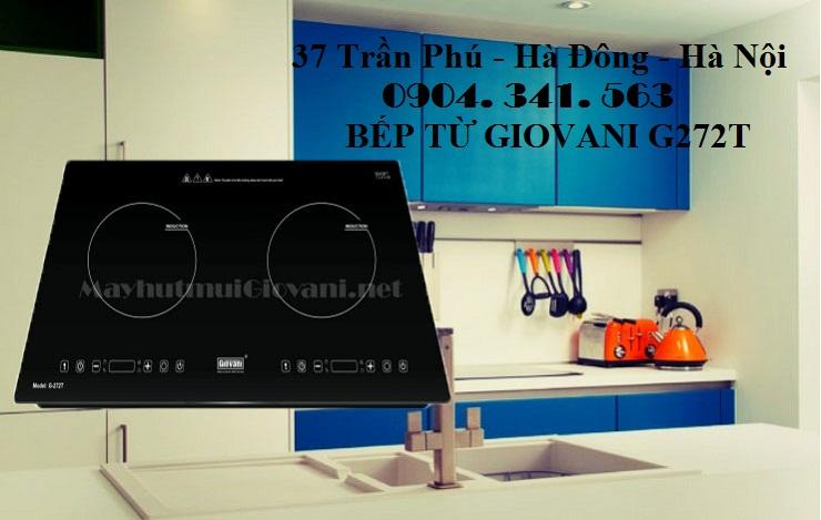 Bếp từ Giovani G272T bán tại Nội thất Kường Thịnh