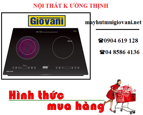 Đại lý bán bếp điện từ Giovani tại Hà Nội