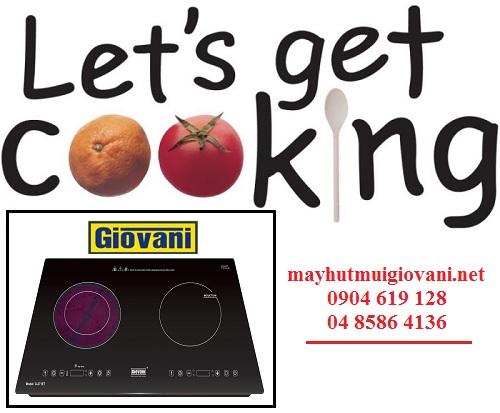 Đánh giá những điểm nhấn thu hút của bếp điện từ Giovani