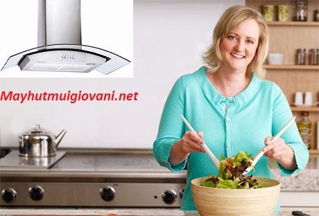 Để không khí tươi mát ngập tràn trong nhà bếp cùng máy hút mùi Binova