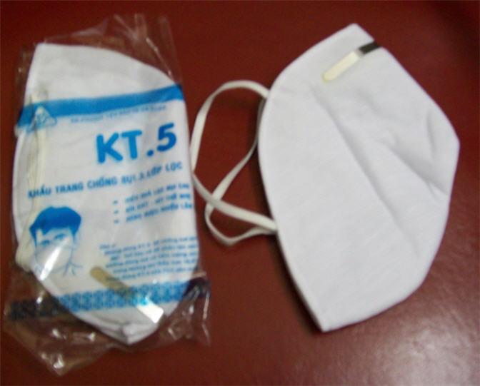 khẩu trang kt5 trắng