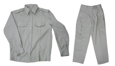 quần áo kỹ sư vải màu trắng ngà