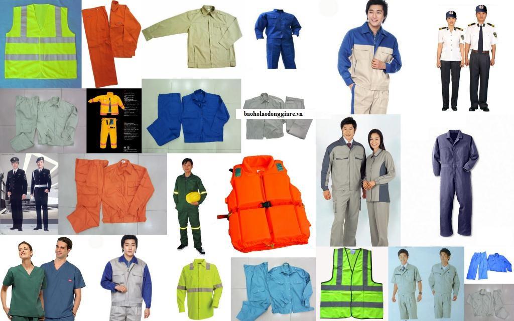 các loại quần áo bảo hộ thông thường