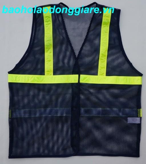 áo phản quang xanh tím than
