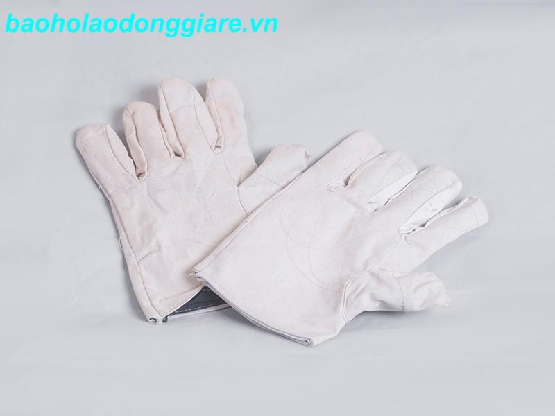 găng tay bảo hộ vải bạt loại 1
