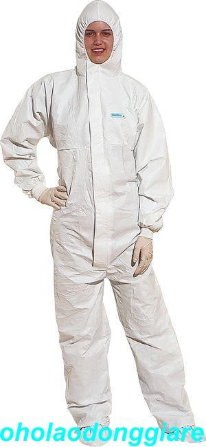 Áo liền quần chống hóa chất