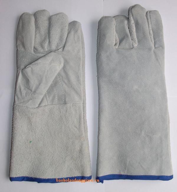 găng tay da hàn 1 lớp giá rẻ
