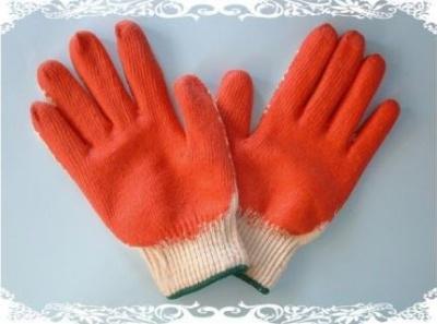 găng tay len tráng cao su  đỏ