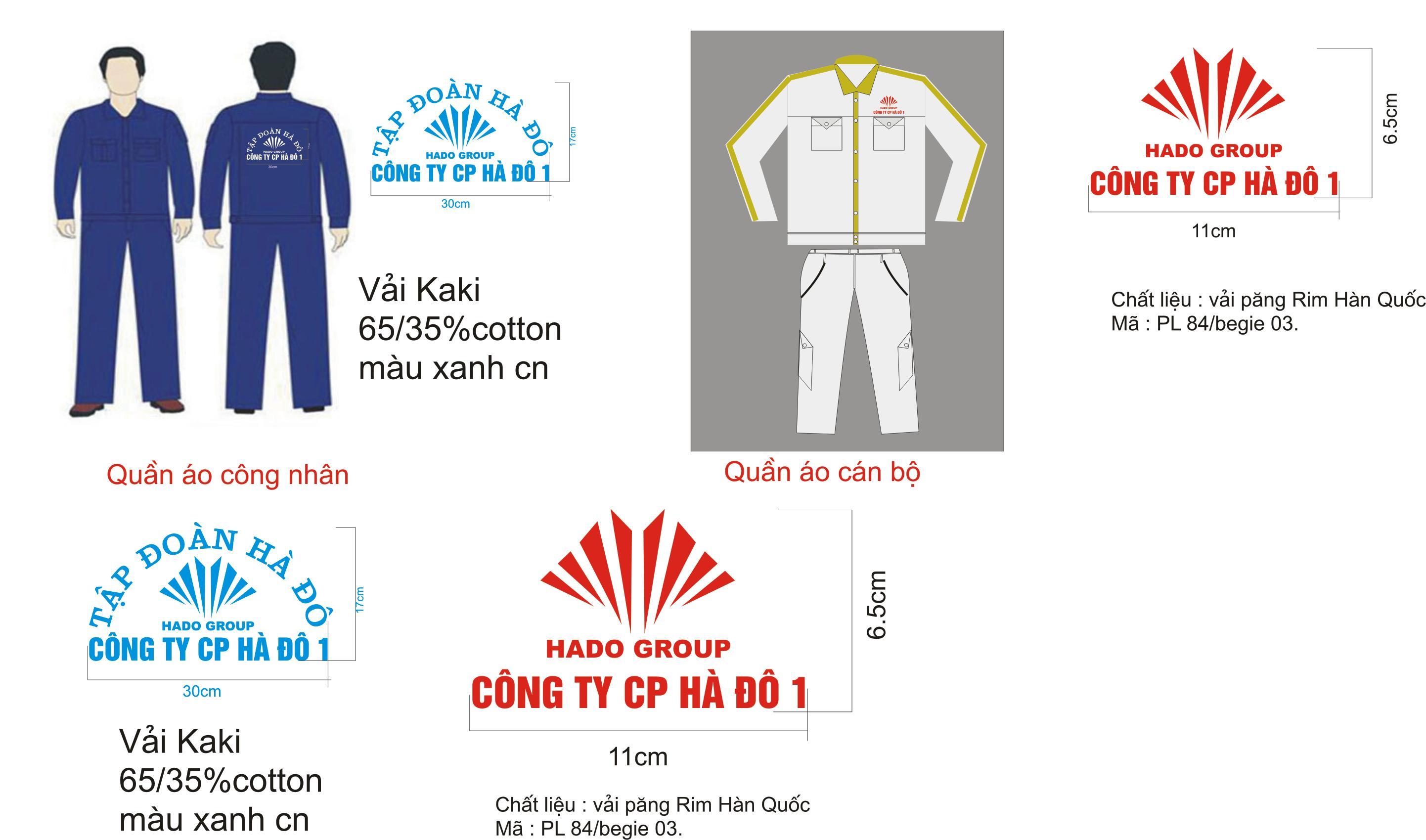 thiết kế quần áo bảo hộ lao động