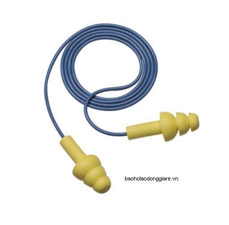Nút bịt tai 3m sử dụng nhiều lần màu xanh