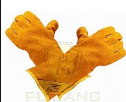 Găng tay da hàn 43-216