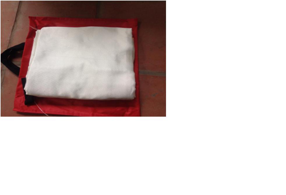 Vải chống cháy (2m X 2.2m)
