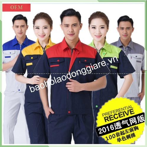 quần áo bảo hộ thiết kế theo mẫu
