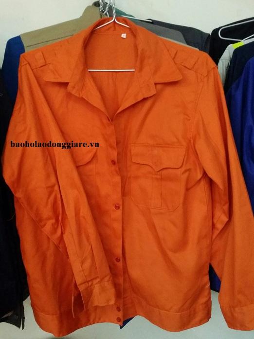 quần áo bảo hộ màu cam