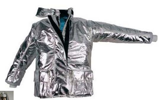 Aó chống cháy , chịu nhiệt - Vải Dick son PTL ( Áo rời có đai , băng nhám hoặc khóa chống cháy )