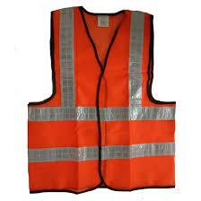 Áo lưới vải màu cam phản quang bạc
