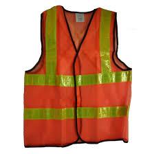 Áo lưới màu cam phản quang vàng chanh hai kẻ ngang mặt sau chữ X