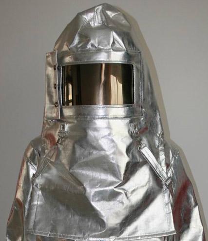 Mũ trùm chống cháy , chịu nhiệt - Vải Dick son PTL ( Có kính che mặt )