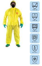 bộ quần áo chống hóa chất microchem