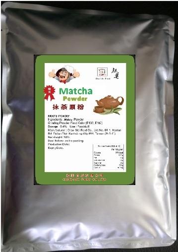 bột trà xanh đài loan