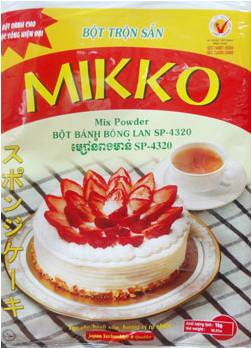bột làm bánh bông lan Mikko