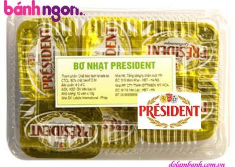 bơ nhạt President Pháp