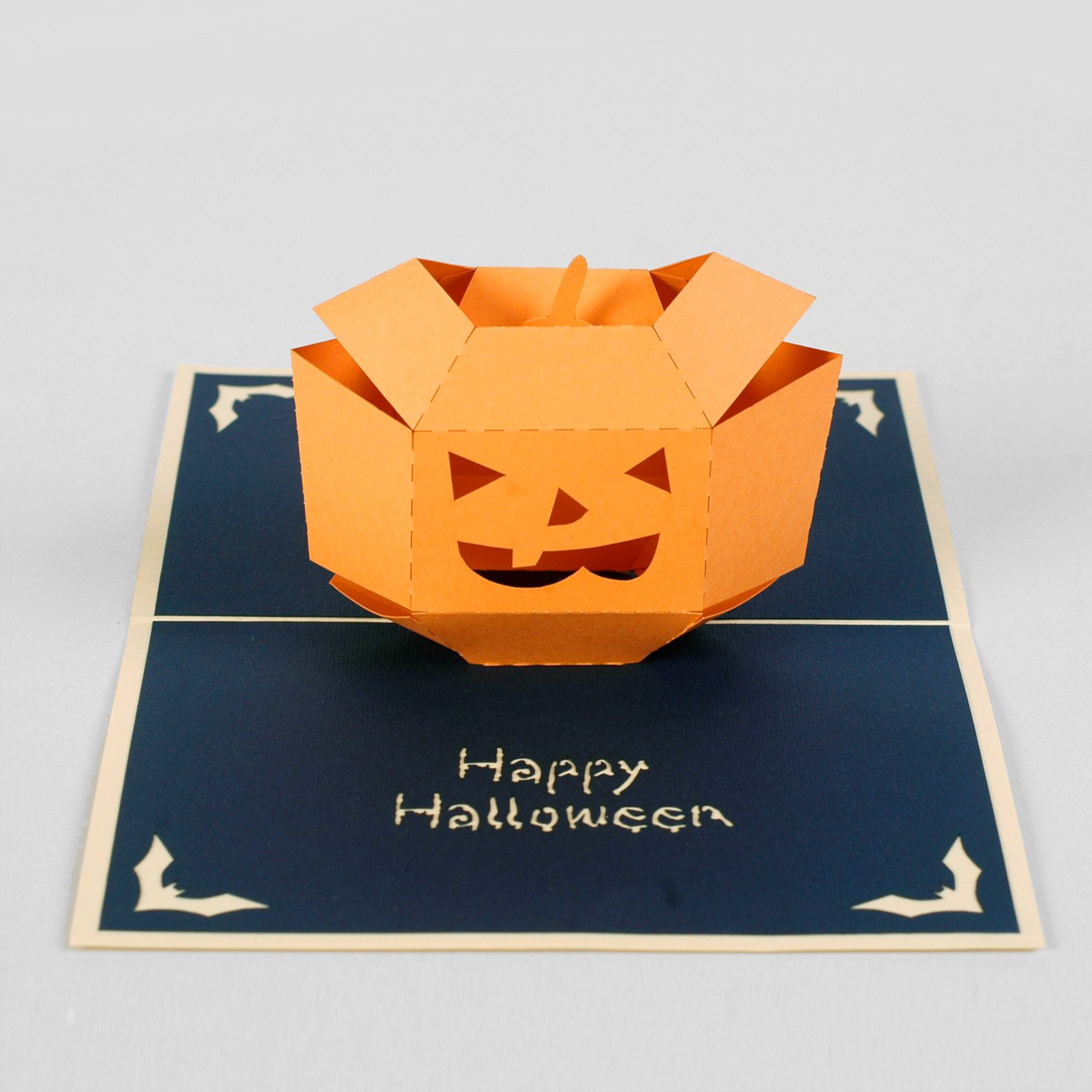 thiệp nổi halloween